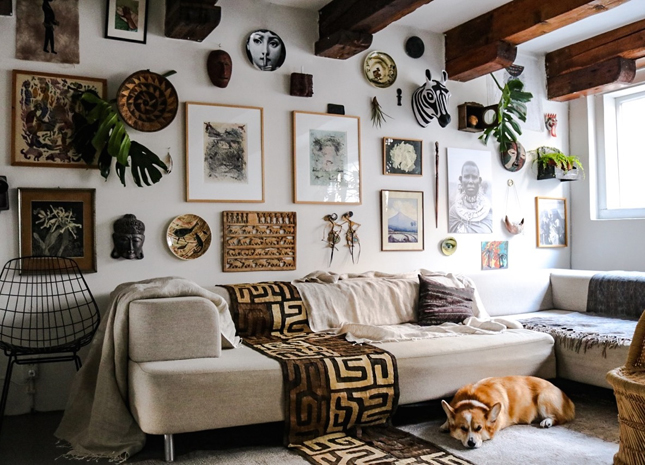 Happy Bohemian Home interior 4