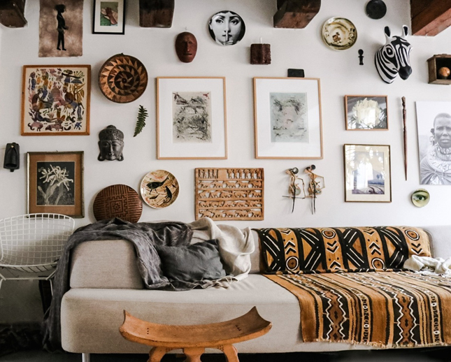 Happy Bohemian Home interior