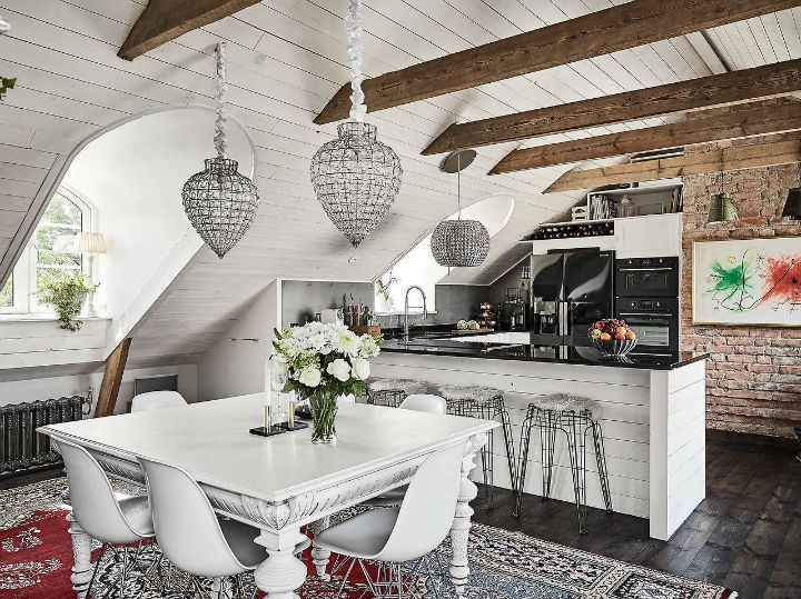 19th Century Style Scandinavian Farmhouse 5