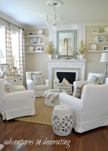12 Picturesque Small Living Room Design: 26 Coastal Living Room Ideas: Give Your Living Room An Awe