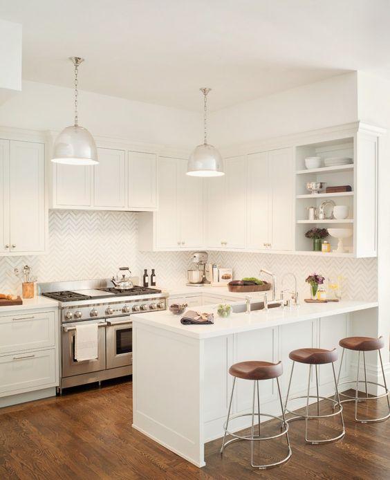 43 Kitchen With A Peninsula Design Ideas