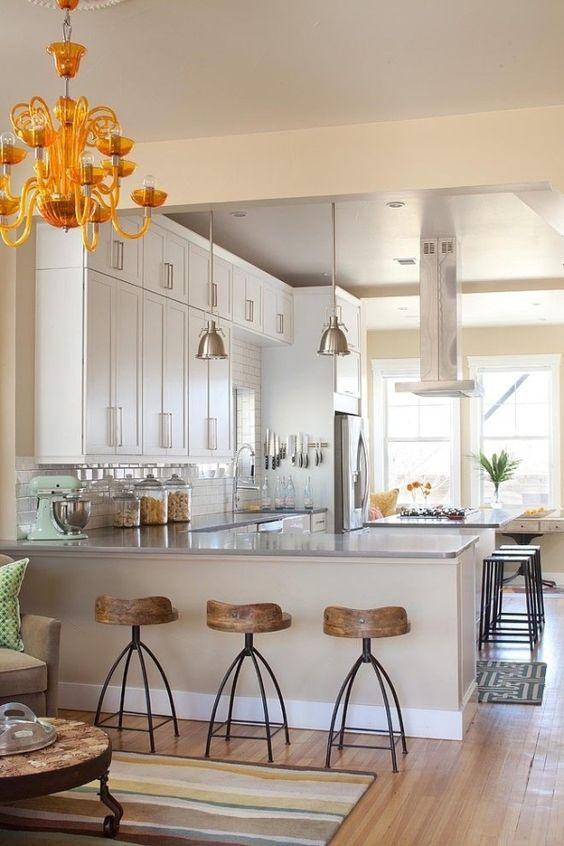 43 Kitchen With a Peninsula Design Ideas   Decoholic