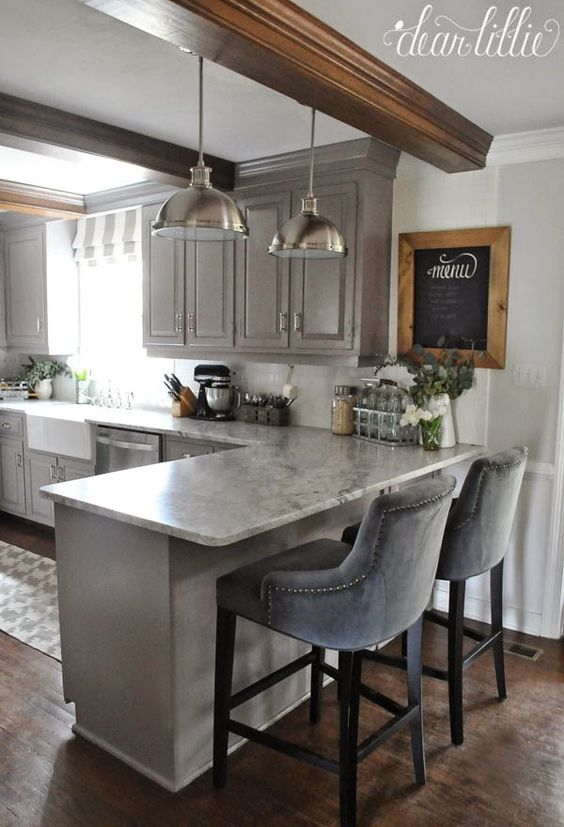 43 Kitchen With a Peninsula Design Ideas - Decoholic on kitchen cabinets peninsula, ideas for kitchen pantry, ideas for kitchen cabinets, small kitchen with peninsula, ideas for kitchen island, ideas for cabinets peninsula, ideas for kitchen cove, ideas for open kitchen, kitchen island peninsula, plans for kitchen peninsula,