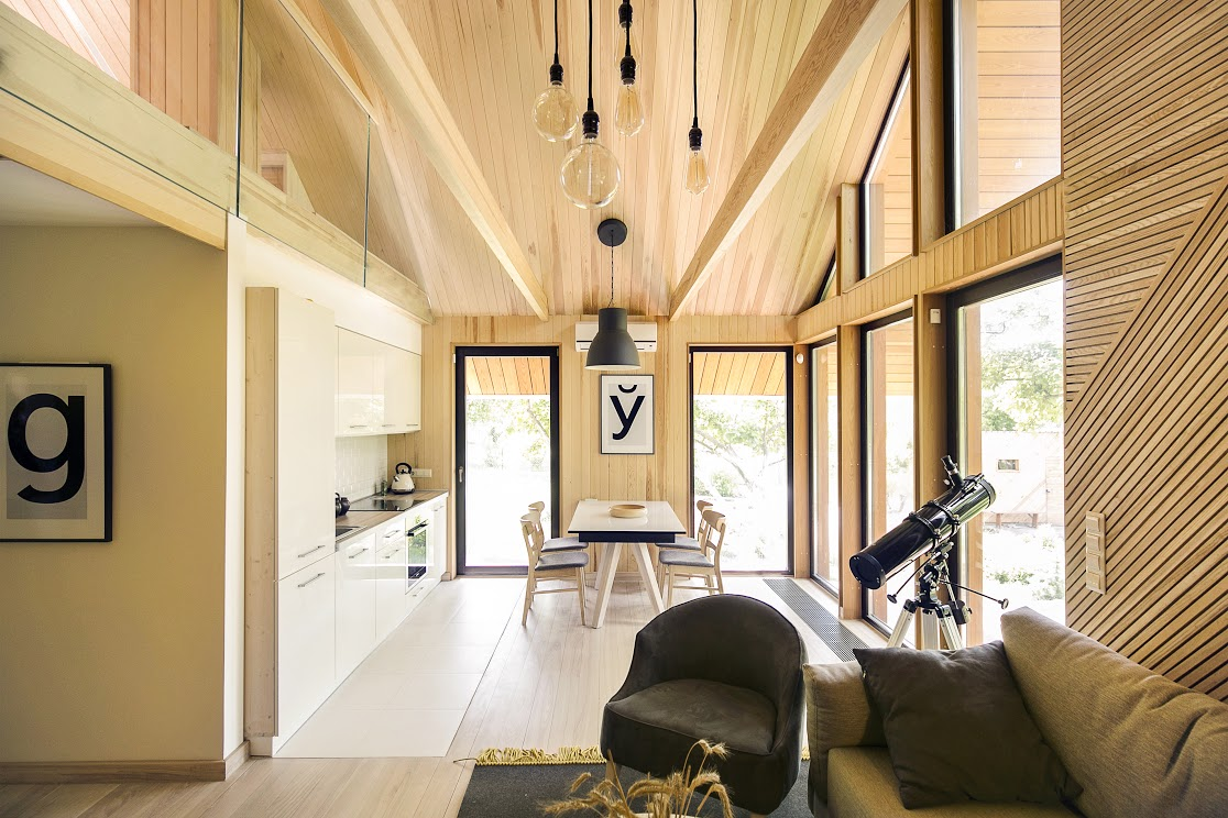 Small Modular Scandinavian Style Home 4