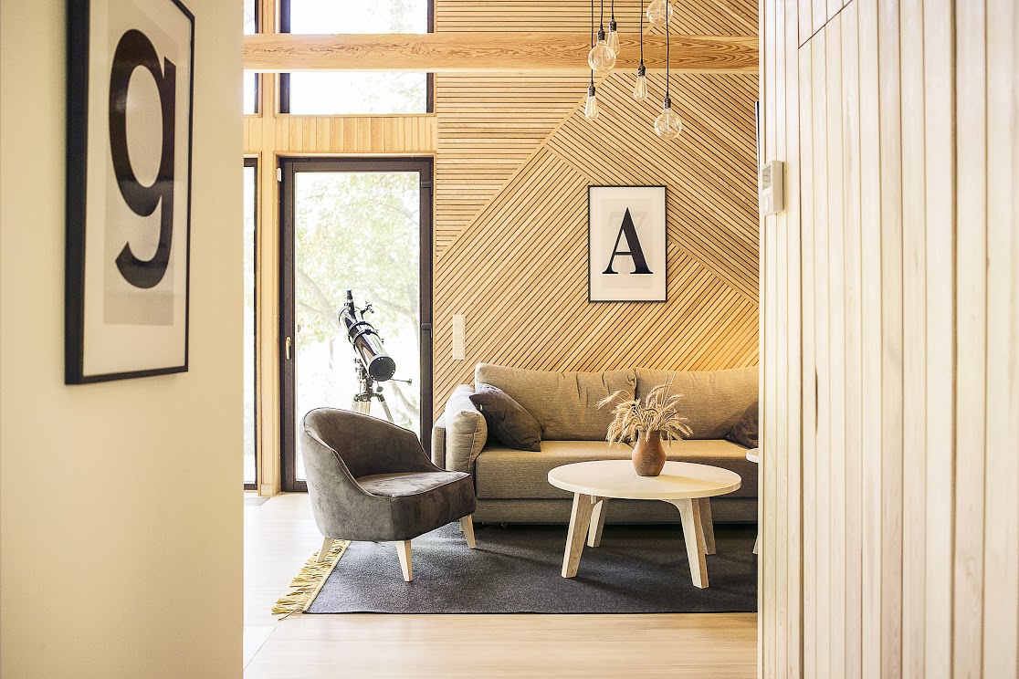 Small Modular Scandinavian Style Home