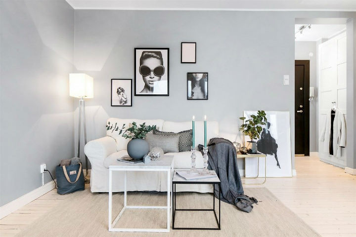 Small Scandinavian Apartment With Open and Airy Design 5