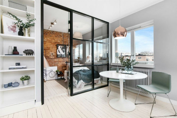 Small Scandinavian Apartment With Open and Airy Design 8