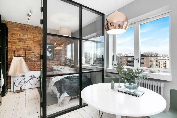 Small Scandinavian Apartment With Open and Airy Design 9