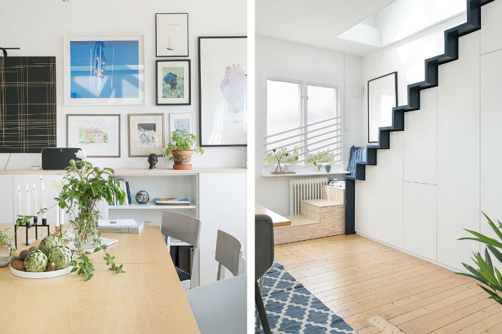Scandinavian minimalism rustic apartment decor 12