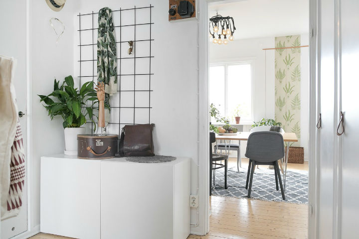 Scandinavian minimalism rustic apartment decor 15