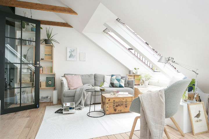 Scandinavian Minimalism Rustic Apartment Decor 6