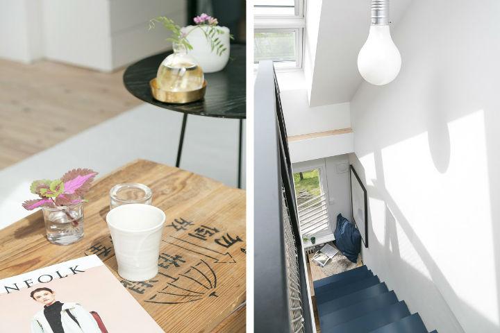 Scandinavian minimalism rustic apartment decor 8