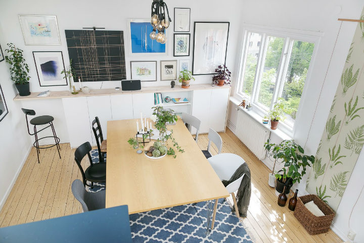 Scandinavian minimalism rustic apartment decor 9