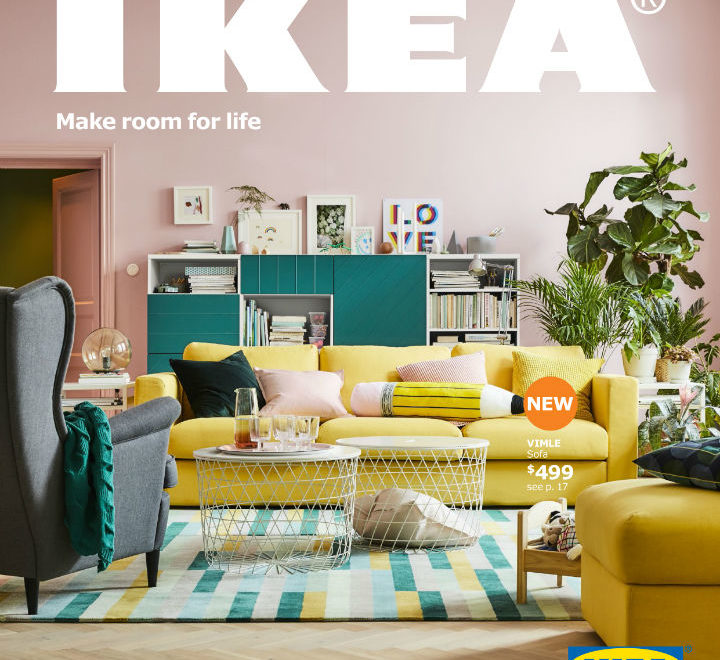 2018 IKEA Catalog: Make Room For Life