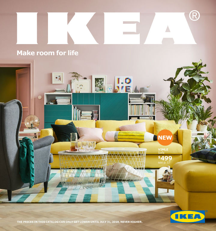 2018 ikea catalog make room for life decoholic. Black Bedroom Furniture Sets. Home Design Ideas