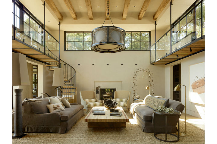 Tuscan Style Villa Turned Into A Modern Country Home