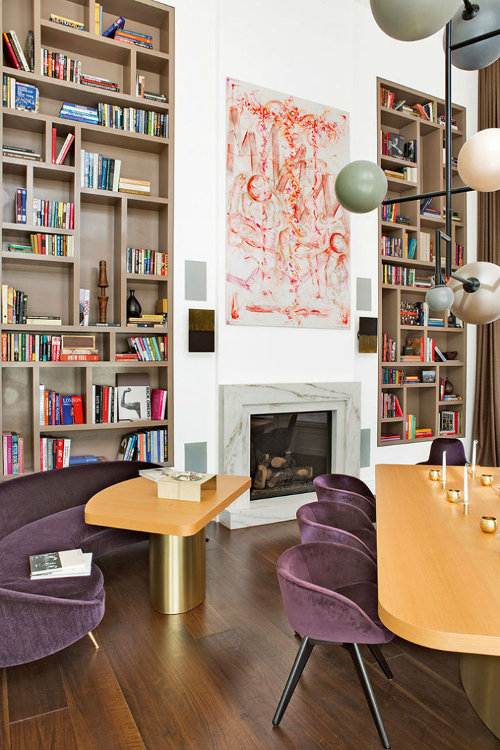 Modern Eclectic Design By Julie Hillman 5