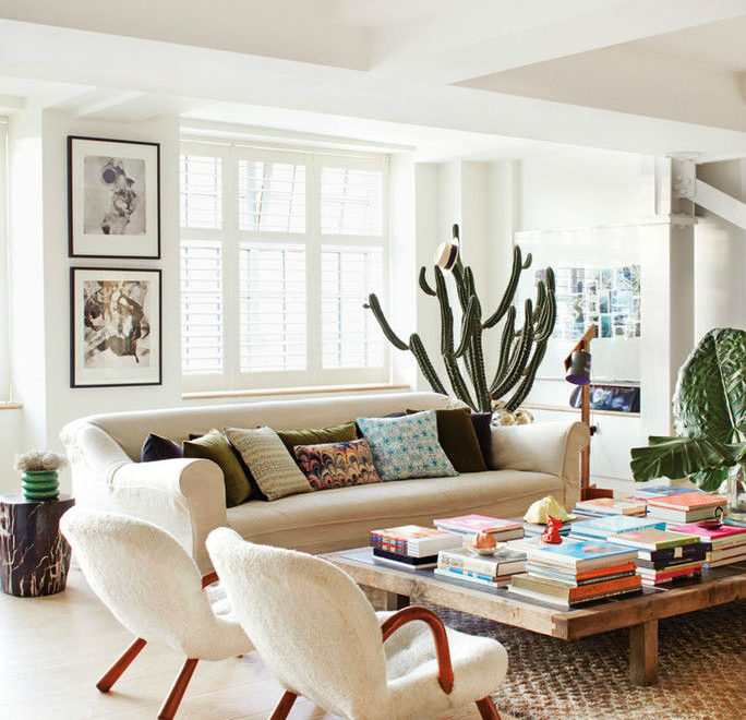 Luxurious Soho Apartment Filled With Unique Art
