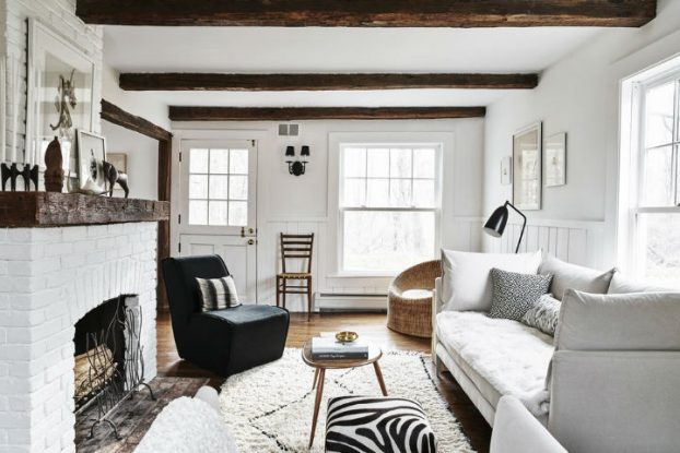 white warm interior design