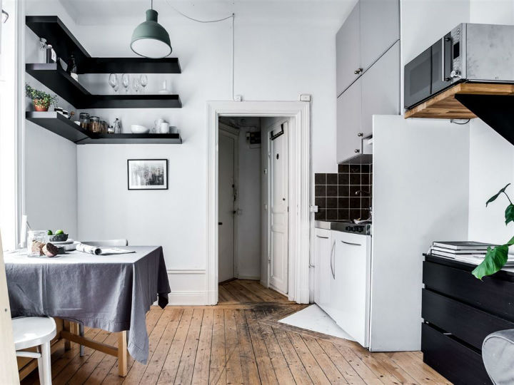 Tiny Scandinavian Studio Loft 3
