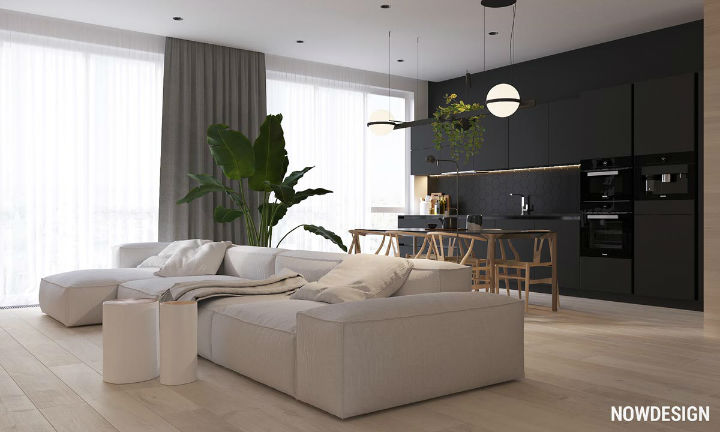 contemporary functional apartment interior design 2