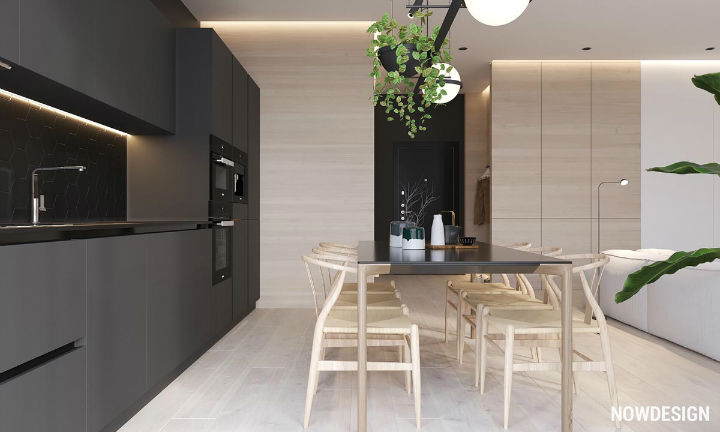 contemporary functional apartment interior design 4