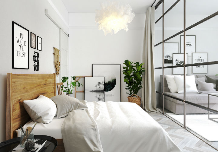 fictional chic Scandinavian apartment interior design 7