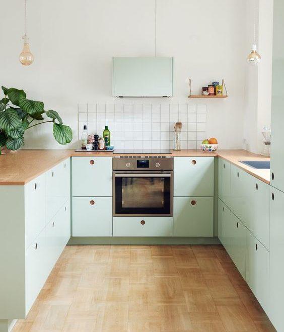 mint kitchen colour ideas