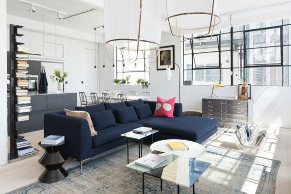Open and Bright Industrial Loft 2