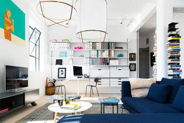Open and Bright Industrial Loft 3