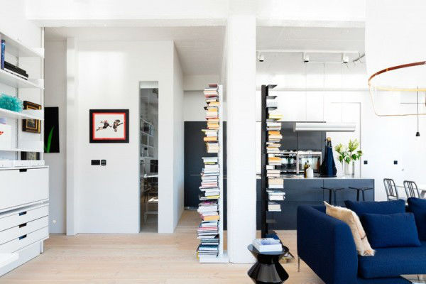 Open and Bright Industrial Loft 5