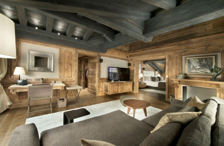 luxury Chalet Edelweiss in Courchevel 12
