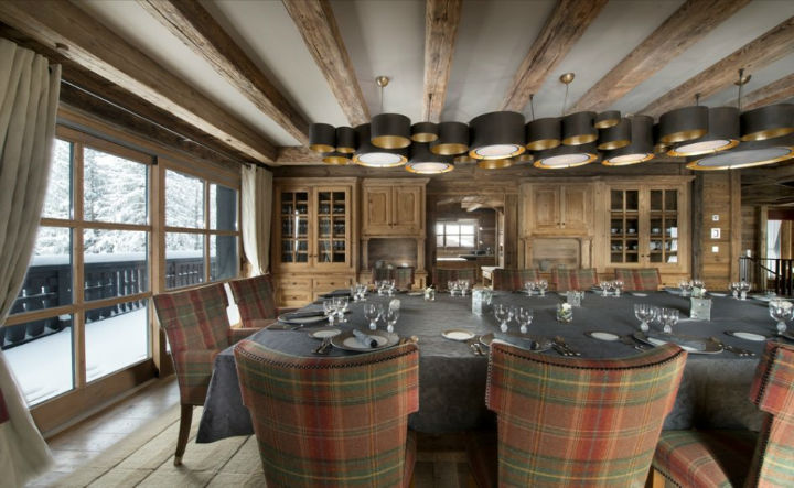 luxury Chalet Edelweiss in Courchevel 2