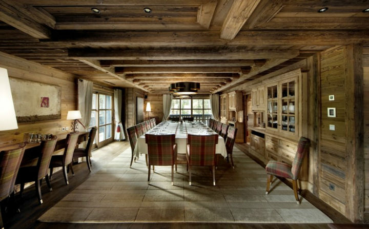 luxury Chalet Edelweiss in Courchevel 3