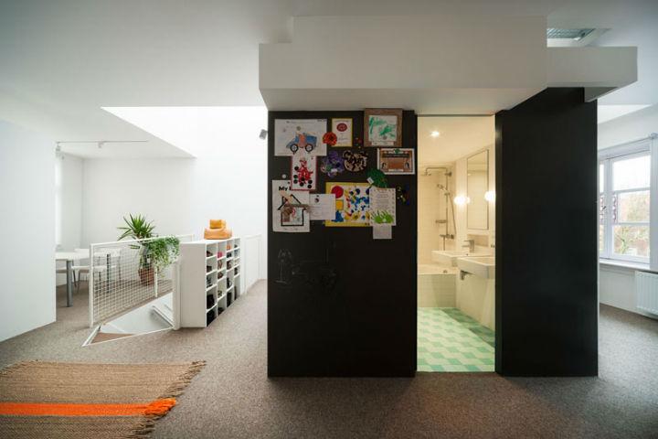 Minimalist Family Loft in Amsterdam 10