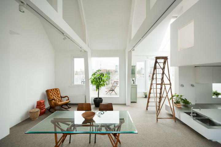 Minimalist Family Loft in Amsterdam 4