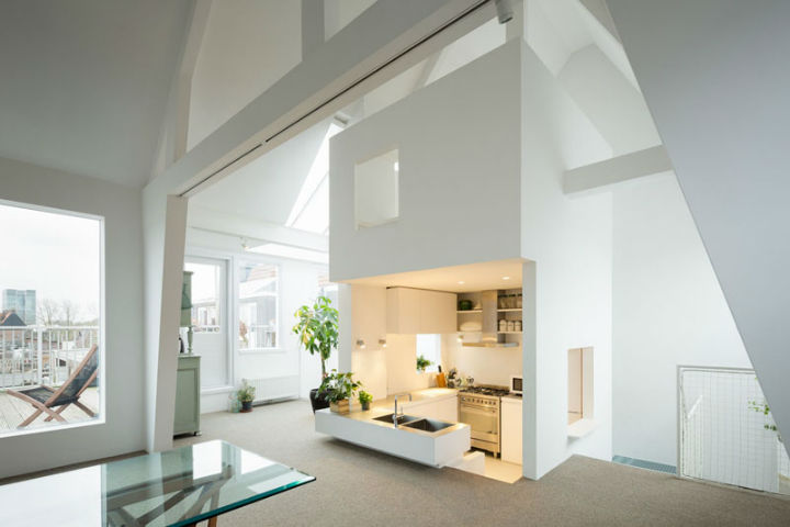 Minimalist family loft in amsterdam decoholic for Minimalist family