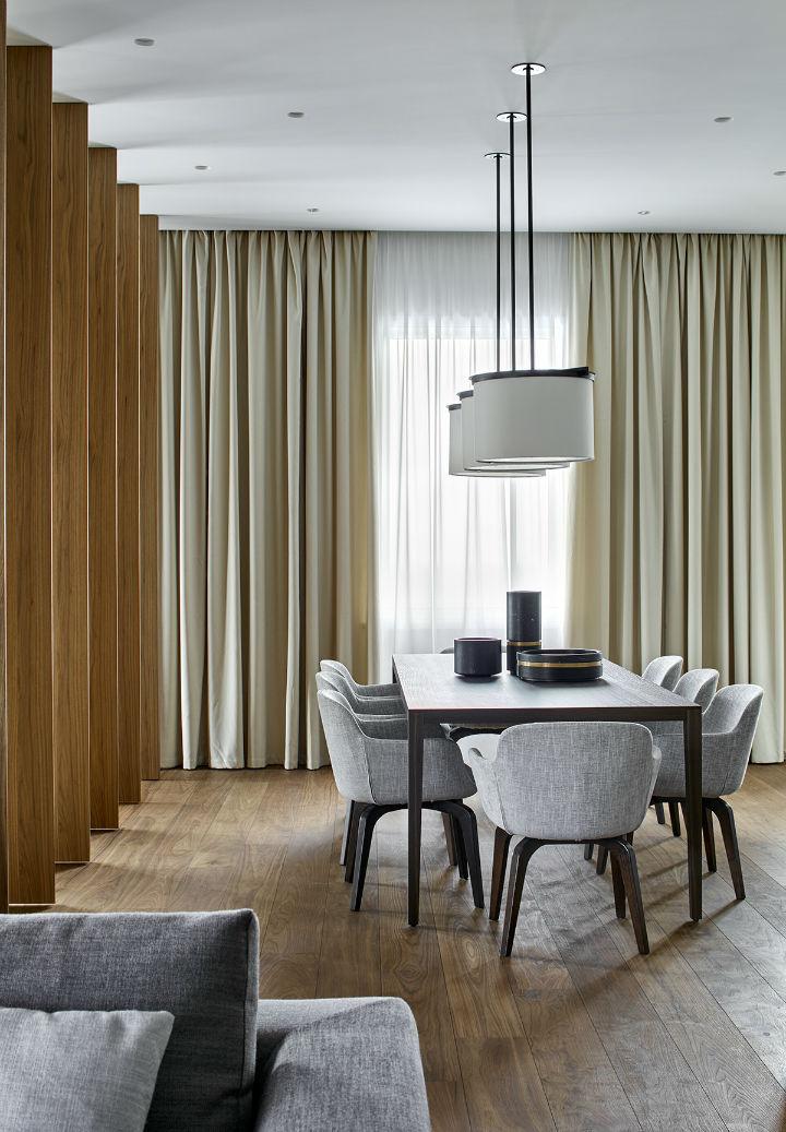 Glamorous Contemporary Apartment interior design 11