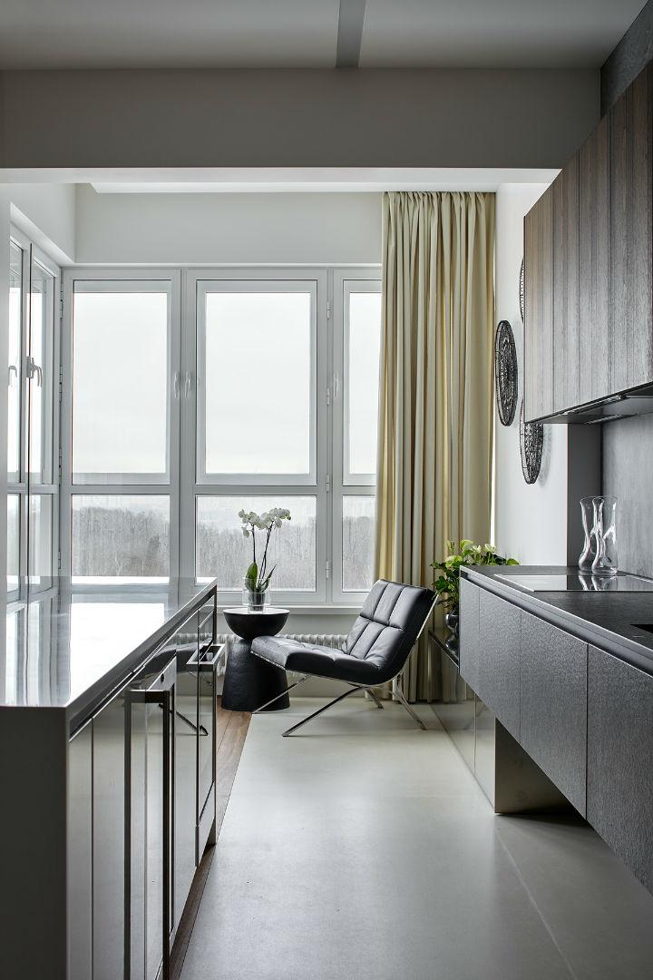 Glamorous Contemporary Apartment interior design 13
