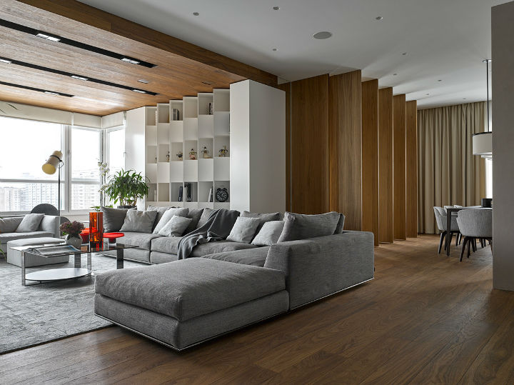 Glamorous Contemporary Apartment interior design 19
