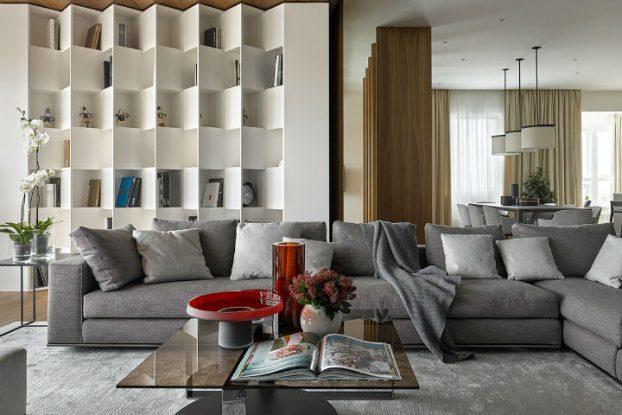 Glamorous Contemporary Apartment interior design