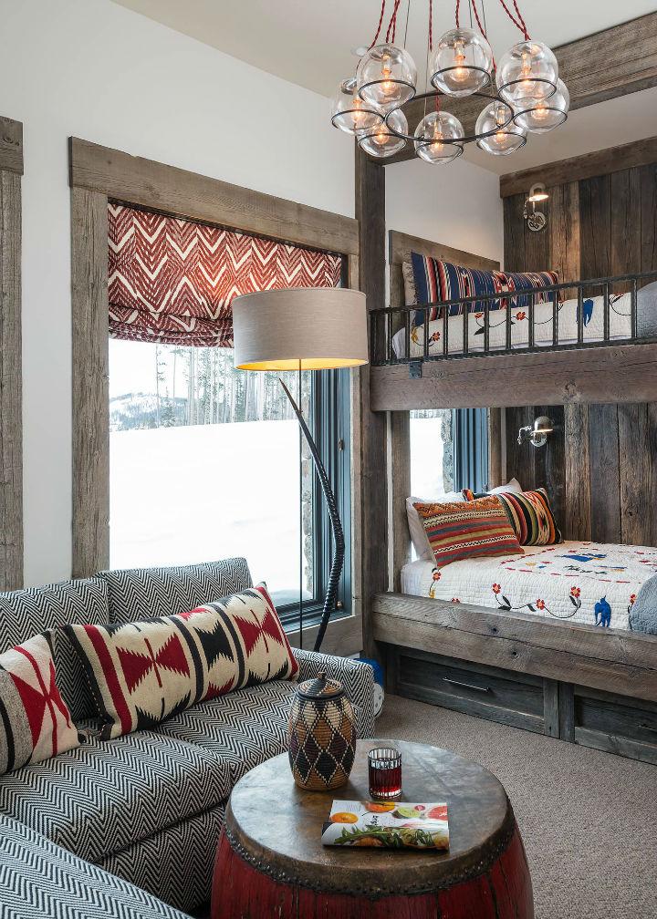 Viking View Chalet interior design 14