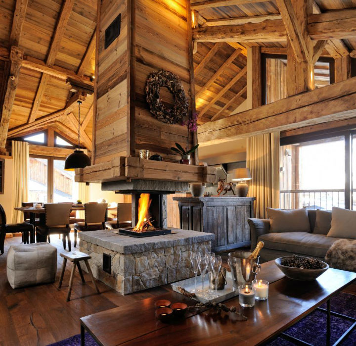 Old Savoie Stable Turned Into a Luxurious Mountain Retreat 2