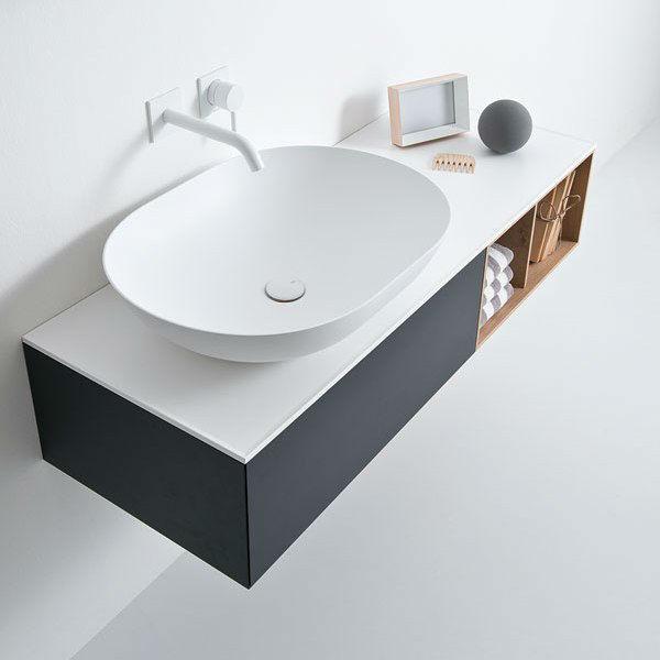 Elegant Modern Washbasin Designed With a Unique and Original Line 4