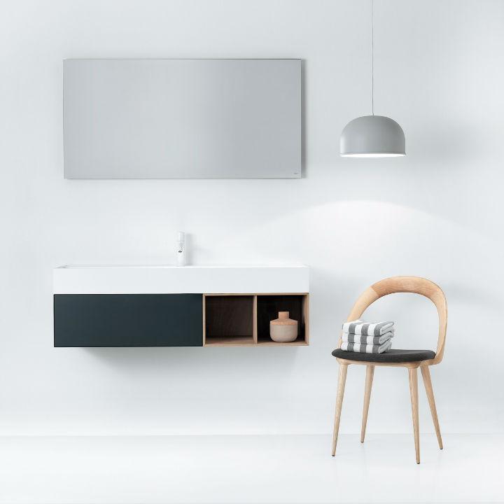 Elegant Modern Washbasin Designed With a Unique and Original Line 5