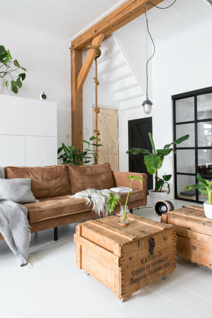 White Interior With Industrial Flair 13