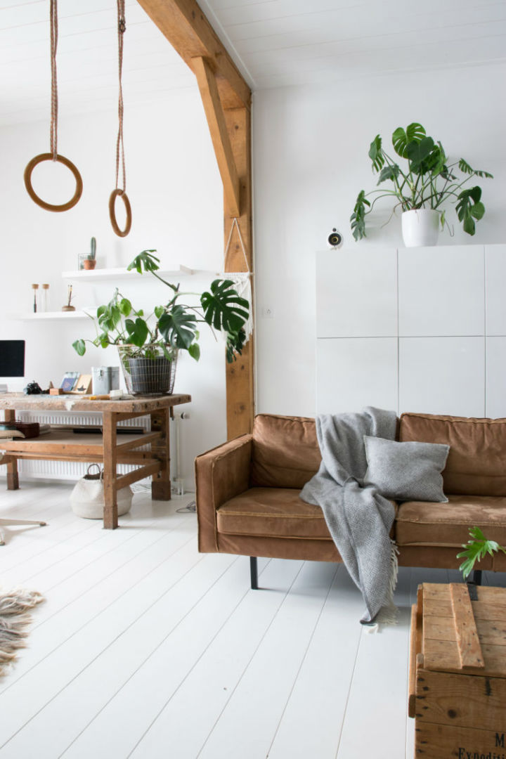 White Interior With Industrial Flair 20