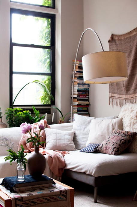 beautiful bohemian apartment interior 5
