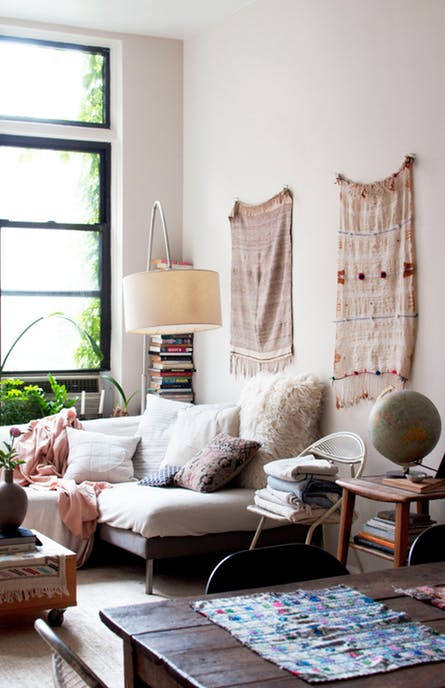 beautiful bohemian apartment interior 9