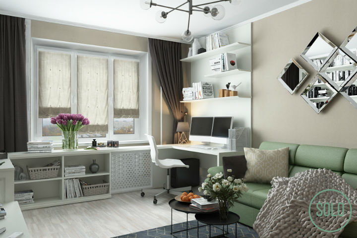 Small Functional Living Space With Style